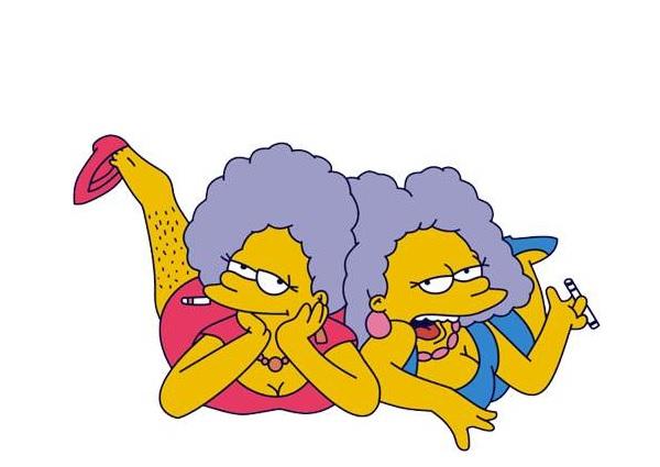 Simpsons_Patty_Selma