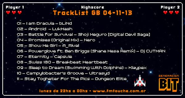 TrackList GB 04-11-13b