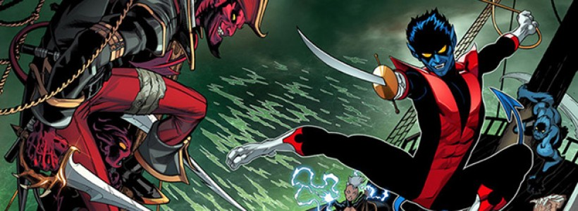 Vuelve Nightcrawler de la mano de Jason Aaron y Ed McGuinness en la nueva serie de Marvel Amazing X-Men