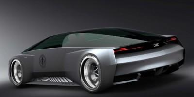 La avant premiere de Ender's Game y su auto futurista