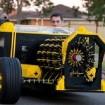 Para fans: construyen un auto con piezas de Lego
