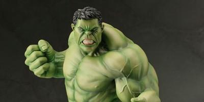Increíble nueva figura de Hulk