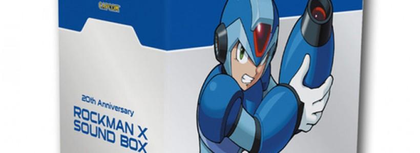 Lanzan al mercado el 20th Anniversary Rockman X Sound Box
