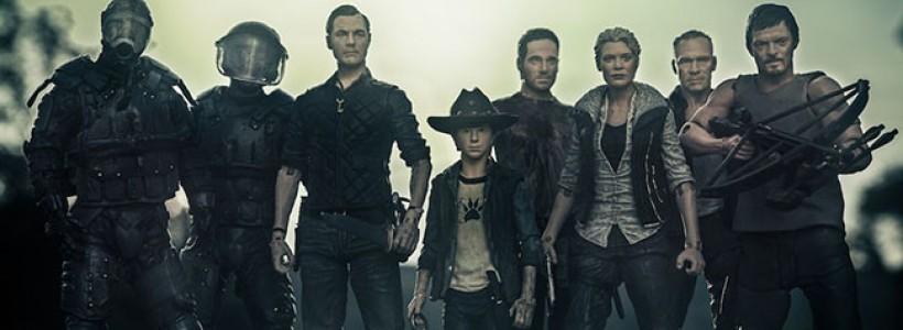 Nuevas figuras de The Walking Dead de la 3era. temporada