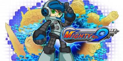 Keiji Inafune jugando a su Mighty No. 9