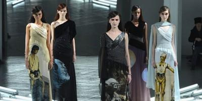 Exhiben vestidos inspirados en Star Wars en la New York Fashion Week