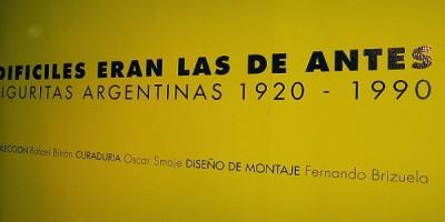 """""""Difíciles eran las de antes"""", muestra de figuritas argentinas"""