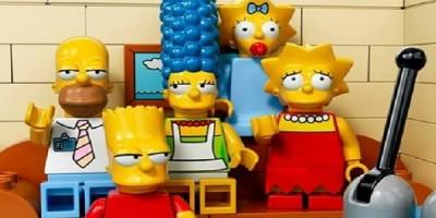 The Simpons y Lego se asocian en un episodio especial