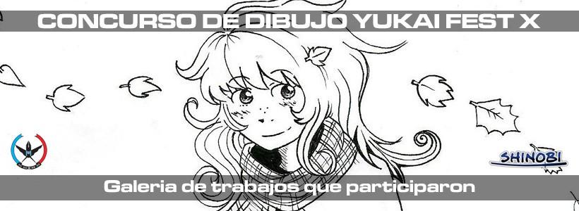 Galeria del Concurso de Dibujo Libre Yukai Fest X
