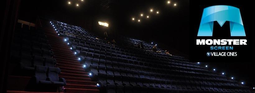 Village cines apuesta en grande en Pilar con su sala Monster Screen