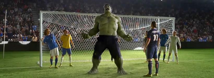 Ronaldo, Neymar y…Hulk! Las estrellas del nuevo comercial de Nike