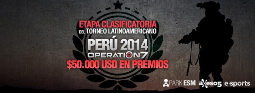 Torneo latinoamericano de Operation7 rumbo a Perú 2014