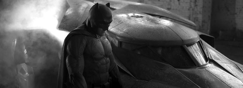 Zack Snyder muestra la primera imagen de Batman y el Batimovil