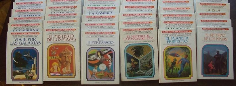 30 años después, vuelven los libros de la colección Elige tu Propia Aventura