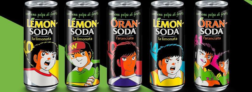 Lanzan una edición limitada de bebidas de Captain Tsubasa en Italia