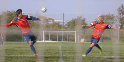 Dream Shoot: Jugadores japoneses recrean los tiros de Captain Tsubasa