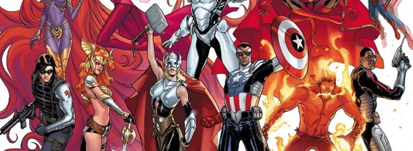 Marvel prepara nuevos cambios en octubre con Avengers Now!