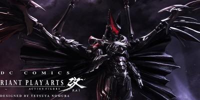 #SDCC2014  Batman por Tetsuya Nomura, el legendario artista sorprende con su versión del Caballero de la Noche