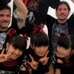 BabyMetal se codea con los grandes referentes del Heavy Metal en su World Tour 2014