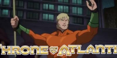 Justice League: Throne of Atlantis, lo nuevo de la DC Animated para el 2015