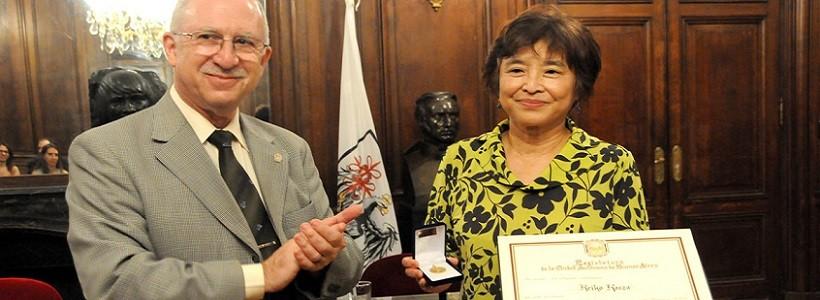 La dibujante japonesa Keiko Kasza fue homenajeada como Huésped de Honor en Buenos Aires
