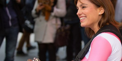 Power Rangers: Amy Jo Johnson volvió a vestir su traje rosa