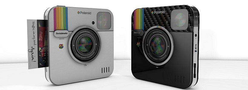 Socialmatic: la cámara Polaroid inspirada en Instagram