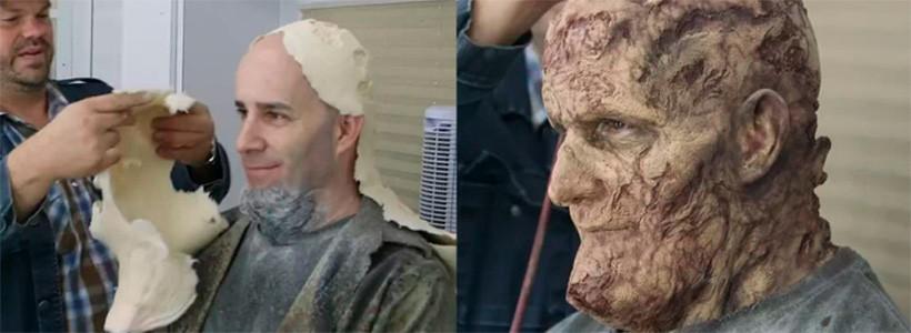 Scott Ian de Anthrax será nuevamente un zombie en The Walking Dead