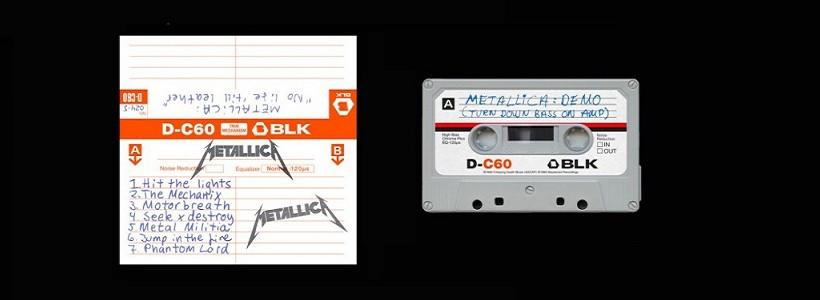 ¡Reeditarán el demo de Metallica en cassette!