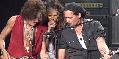 Johnny Depp, Paul McCartney y The Hollywood Vampires