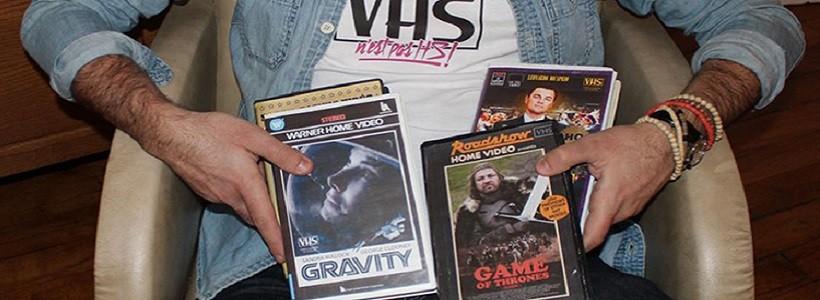 """Stan VHS: Intervención artística al """"estilo retro"""""""