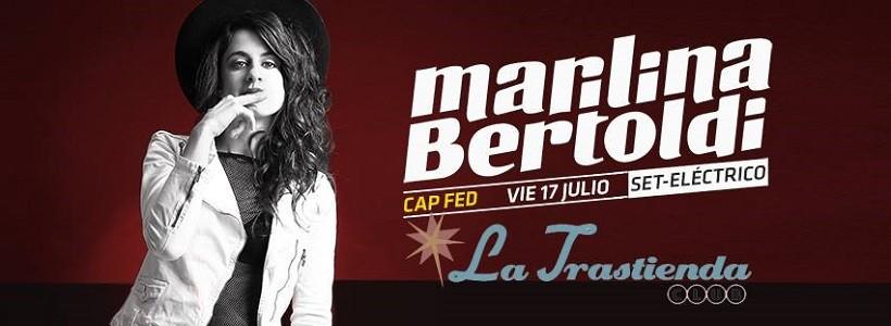"""Entrevista exclusiva a Marilina Bertoldi: """"La prioridad es hacer canciones y el resto se va ajustando a eso"""""""