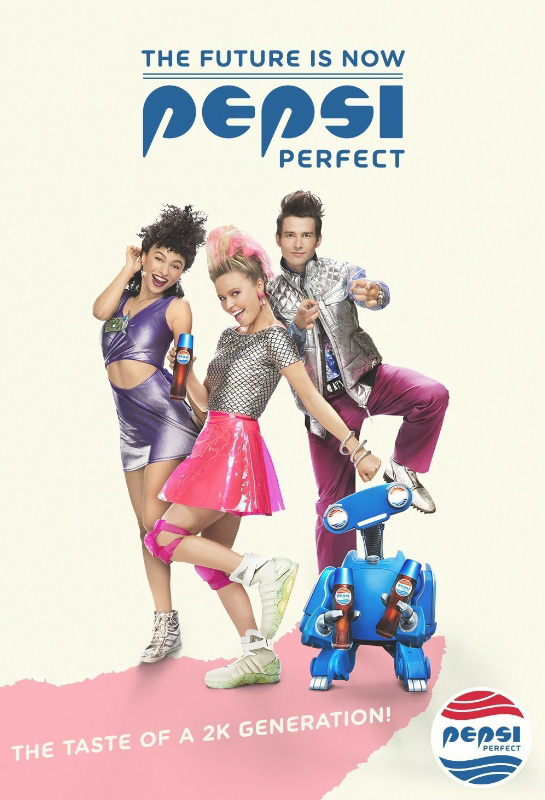Pepsi unveils a series of themed advertisements in celebration of Pepsi Perfect and the 30th anniversary of Back to the Future. (PRNewsFoto/PepsiCo)