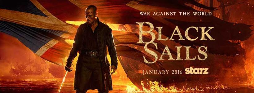 Black Sails Temporada 3, la guerra llega a Nassau