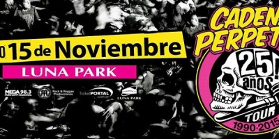 Review: Cadena Perpetua en el Luna Park (15-11-2015)