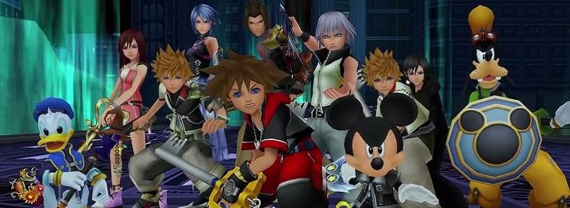 Kingdom Hearts 2.8 y Kingdom Hearts 3, lo nuevo para 2016