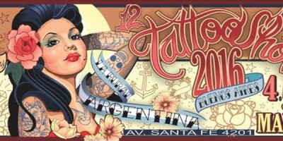 Llega el 12 Tattoo Show 2016 a la Rural en marzo