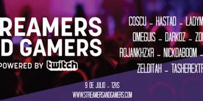 Streamers & Gamers: guia de actividades
