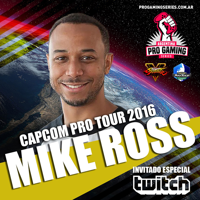 Capcom Pro Tour Argentina 2016 Mike Ross