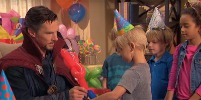 Doctor Strange, ¡animador de cumpleaños!