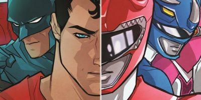 La Liga de la Justicia y los Power Rangers se ven las caras