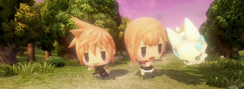 Adelanto de World of Final Fantasy