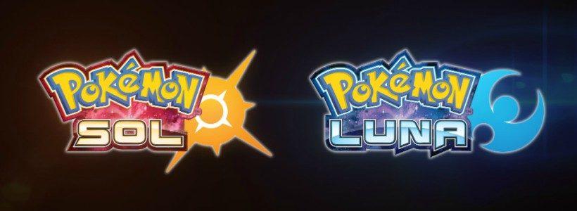 Novedades de Pokémon Sol y Pokémon Luna