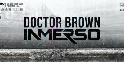 """Entrevista exclusiva con Mati Genzone de Doctor Brown: """"No somos conformistas y siempre vamos por más"""""""