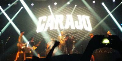 Review: Carajo + Huevo + Fiesta Clandestina en Groove (18-02-2017)