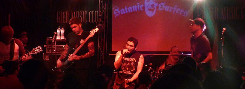 Review: Satanic Surfers en Gier Music Club (07-02-2017)