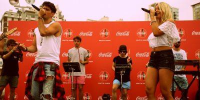 Coca-Cola presentó el tema Sentí el Sabor