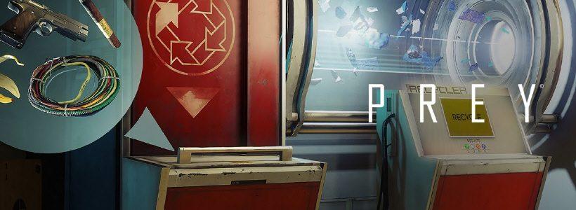 Reciclá todo con el nuevo trailer de Prey
