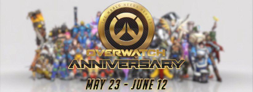 """Overwatch: comenzó el evento aniversario y ya está disponible la versión """"Juego del Año"""""""