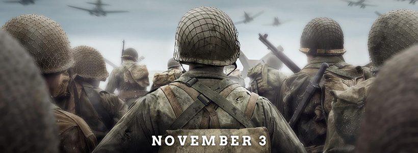 [E3 2017] Call of Duty WWII: espectacular nuevo trailer en la E3